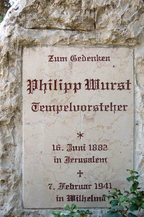 Templer gravestone